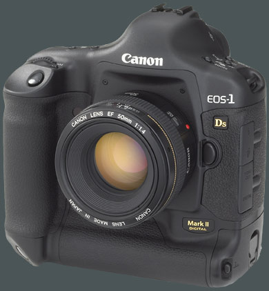 Canon EOS 1Ds Mk II groß