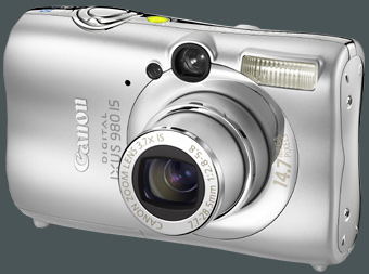Canon Ixus 980 IS gro�