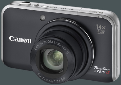 Canon PowerShot SX210 IS gro�