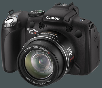 Canon PowerShot SX1 IS gro�