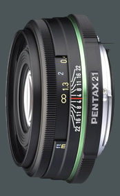 Pentax smc DA 21 mm / 3,2 AL Limited