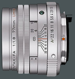 Pentax smc FA 77 mm / 1,8 Limited