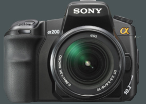Sony DLSR-A200 gro�