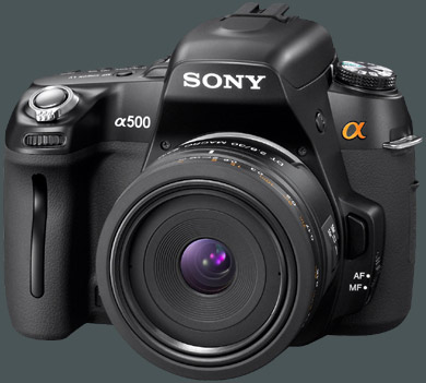 Sony DLSR-A500 gro�