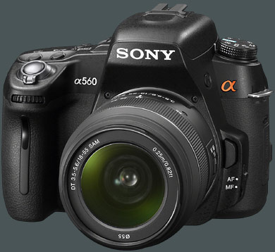 Sony DLSR-A560 gro�
